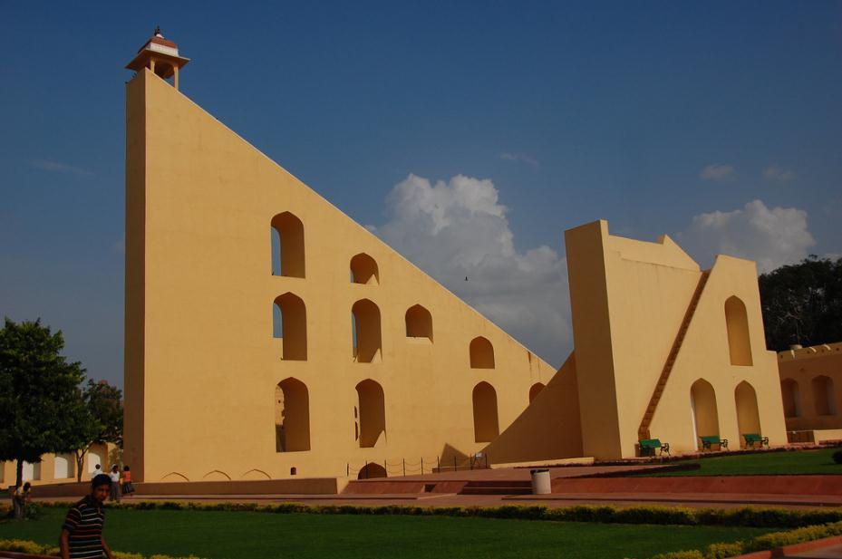 Jantar Mantar - World Largest Sundial India